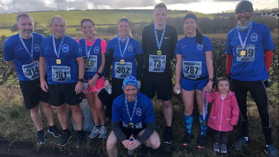 Team Maryhill, Kirkintilloch 12.5k 2019