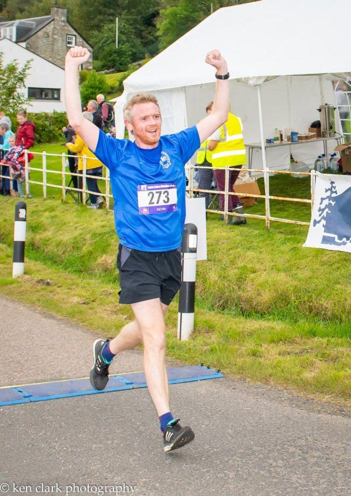 Kyles 10 Miles 2019 finish